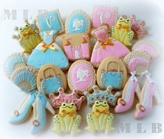 Princess and the Frog Party cookies...