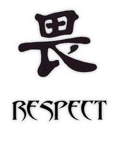 Respect Tattoo Symbols