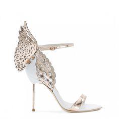 Sophia Webster - Evangeline sandal  we ❤ this!  moncheribridals.com  #weddingshoes #bridalshoes  #weddingsandals