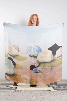 frontal, lenço