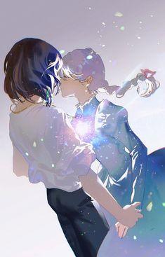Studio Ghibli Art, Studio Ghibli Movies, Kimi No Na Wa, Howl Pendragon, Manga Anime, Anime Art, Chihiro Y Haku, Howl And Sophie, Bild Tattoos