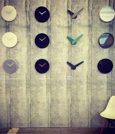 Maison MVP Sebastian Herkner, with clocks for LEFF Amsterdam (second row from left). Maison & Objet Fall 2013