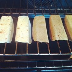 oven baked tacos. Trying this one next time, I like how they make the flat bottom taco shells :)