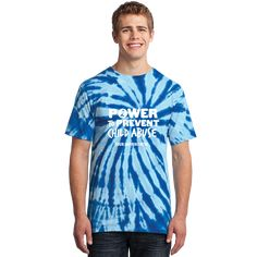 Vibrantly colored tie dye t-shirt promoting child abuse prevention. Ribbon Meaning, Child Abuse Prevention, Huntington Disease, Human Trafficking, Tie Dye T Shirts, Awareness Ribbons, Positive Quotes, Children, Mens Tops