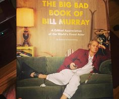Get your fill of Bill by following his fascinating career and life in the Big Bad Book Of Bill Murray. It provides insight into every facet of the beloved icon from his early days in SNL to his blockbuster days, all the way up to his re-invention as a hipster icon.
