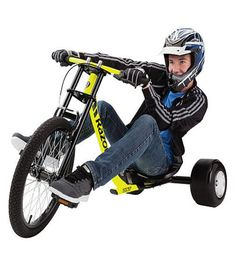 Here's to never growing up. | Razor DXT Drift Trike - Breakloose for downhil Thrills
