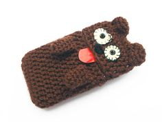 BEAR phone case CUSTOM cover crochet all cell phone iphone blackberry samsung android