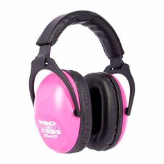 Everyone's head and ear size is different, one size does not fit all. Pro Ears ReVO in Neon Pink, can make the difference for you! These NRR 25 passive ear muffs are designed from the ground up to fit smaller heads. Ear Protection For Shooting, Hearing Protection, Best Friend Gifts, Gifts For Friends, Gifts For Mom, Shooting Accessories, Camping Accessories, Best Noise Cancelling Headphones, Get Well Soon Gifts