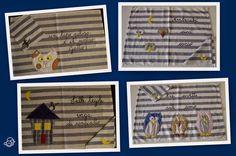 Casa Ignoli: Le tovagliette: filastrocche di stoffa