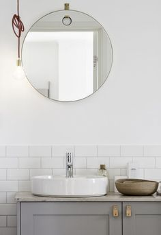 Minimal Modern Bathroom Styling Details | Bath Essentials | Contemporary Design | Add an organic bamboo toothbrush | nakedtoothbrush.com | #inspiration #nakedbath
