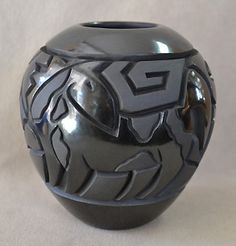 Andrews Pueblo Pottery: Native American Art including Hopi, Maria Martinez black pots
