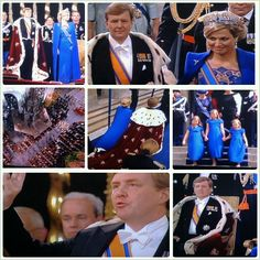 April 30th, 2013: Divers photo highlights of a the inauguration of OUR new KING Willem Alexander!   King of the Kingdom of The Netherlands.