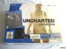 Sony PlayStation 4 Uncharted 500 GB Console Bundle: System  Games [BRAND NEW]