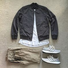 WEBSTA @ excessive.styles - Bringing out the bomber today _______________• @theory__ Lightweight bomber jacket• @allsaintslive Tshirt•…