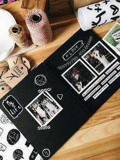 Альбом для вырезок 80 страниц Фотоальбом Крафт Бумага DIY | Etsy
