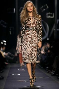 Diane von Furstenberg Fall Winter Ready To Wear 2013 New York