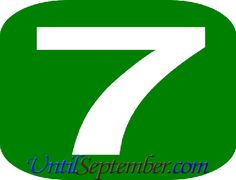 Those who want to learn how many days until September can check our countdown tool we located above. - Until September How Many Years, Own Goal, Read More, Brazil, September, Friday, Goals, How To Plan, Shit Happens