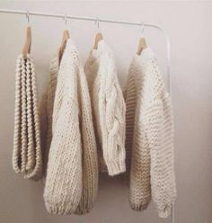 Women's chunky cable knit sweaters