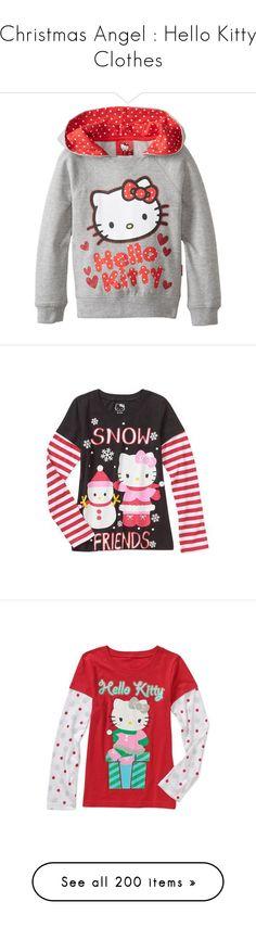 New Girls Hello Kitty Old Navy Pajama Set w// Shirt Pants Christmas Theme 2T 3T