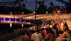 Fantasmic! Disney's Hollywood Studios, Orlando, Florida, EUA.