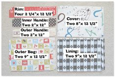 While P and a friend were working on their own sewing project this afternoon, I made this super cute drawstring lunch bag using this tutorial. Small Sewing Projects, Sewing Projects For Beginners, Sewing Tutorials, Bag Pattern Free, Bag Patterns To Sew, Lunch Bag Tutorials, Sac Lunch, Messenger Bag Patterns, Rim
