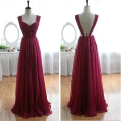dress, red, and Prom