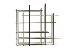 Open double-sided divider bookcase WABI - Neil David