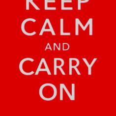 Keep calm people!