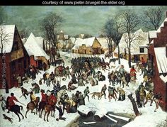 The Slaughter of the Innocents 1565-66 - Pieter the Elder Bruegel - www.pieter-bruegel-the-elder.org