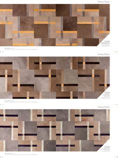 Tapetes Calçada, criados para a Salvatore Minuano