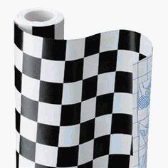 Checkerboard decorative covering - Lenny's Alice in Wonderland shop