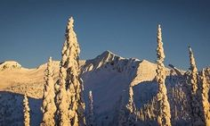 """'Ymir Sunsets' """"It sure was nice to be treated with views like this last week, however Ymir has gone back to being a shrouded #mystery behind the #resort.    Dark cloudy skies do whisper the promise of #snow at least!    Photo: #Sunset in the #YmirPeak #Skyline"""""""