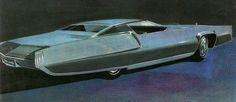 Two Door Cadillac Concept Pimp Mobile Car Design Sketch, Car Sketch, Retro Cars, Vintage Cars, Futuristic Cars, Car Drawings, Us Cars, Transportation Design, Automotive Design
