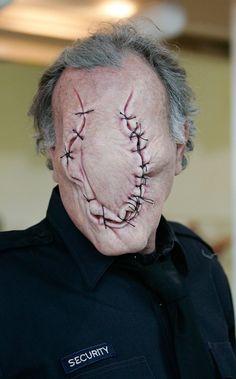by Paul Jones for Silent Hill Revelation. #creepy #halloween #makeup #sfx