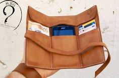 Personalized leather wallet i phone by mbgfashionstudio on Etsy-SR