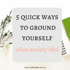 We all know how terrible anxiety can feel. From the nauseous feeling before you give a presentation, to the panicky sensation when you have to try something new, to the overwhelming anxiety that incapacitates you. Grounding is a simple but effective therapeutic technique that can help you when strong anxiety hits. You can use grounding when you feel like the … Read more...