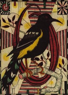 "Alphabet of Songbirds - ""O"" Tony Fitzpatrick"