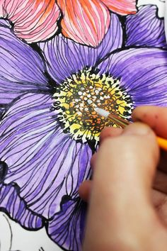 Alisaburke: colored pencils: a few tips and tricks - like using baby oil to blend colors