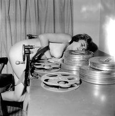 mudwerks:  editing   Girl on film