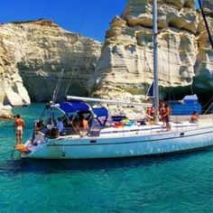Discover Andros: in the heart of the Aegean, in the Cyclades, aristocratic Andros reveals her secrets! Underground Cities, Sailing Trips, Sailing Adventures, Island Tour, Windsurfing, California Travel, Greece Travel, Beautiful Islands, Greek Islands