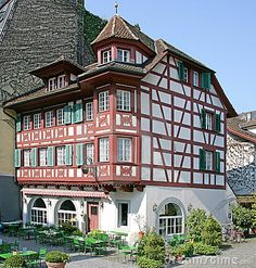 Photo about Nice Mansion in Luzern. Image of mansion, roof, europe - 2217834 Images Of Mansions, Swiss House, Homeland, Home Deco, My Dream, Switzerland, Florida, Exterior, Stock Photos