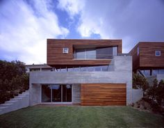 Convertible House With Wood Clad Top