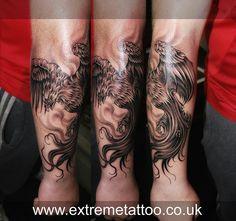 50 japanese phoenix tattoo designs for men mythical ink ideas k rper. Black Bedroom Furniture Sets. Home Design Ideas
