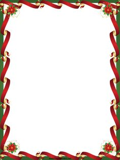 free printable boarders | Christmas Border - Free Page Borders ...