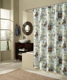 Pop Art Microfiber Garden Shower Curtain