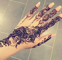Henna Mehndi Design Tattoos-Gd Mehndi Design For Hand 2017 Henna Hand Designs, Beautiful Henna Designs, Mehndi Designs For Hands, Henna Tattoo Designs, Design Tattoos, Henna Tattoo Hand, Hand Tattoos, Henna Ink, Tatoos