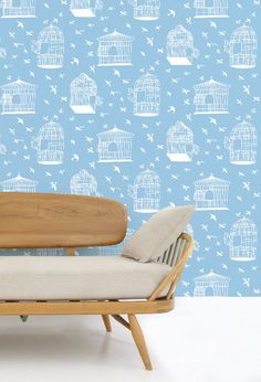Our Adventure Wallpaper Collaboration with Mini Moderns. $82.65, via Etsy.