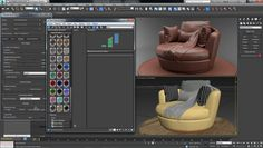 Contextual Material Editing in Iray for 3ds Max