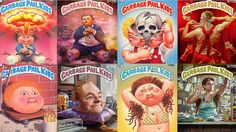 "Garbage Pail Kids – Where Are They Now?  #nerdlove #garbagepailkids #nowandthen #mademelaugh #1980s #tradingcards http://nerdist.com/garbage-pail-kids-where-are-they-now/ #wherearetheynow n a project by photographer Brandon Voges and art director Jake Houvenagle, they decided to re-imagine some of the Garbage Pail Kids in a ""where are they now?"" scenario, assuming they've aged with the rest of us."
