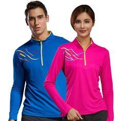 c1e1e2bb992f57 Buy LoClimb Lovers Anti-Uv Hiking T-Shirt Men Women Quick Dry Fitness  Jersey Outdoor Trekking Sport T Shirt Fishing